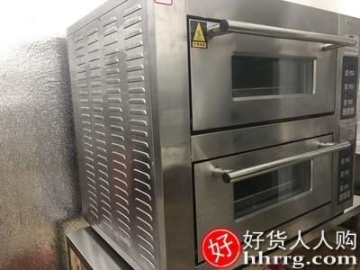 interlace,1# - 乐创商用双层烤箱,大容量披萨蛋糕大型烘炉电烤箱