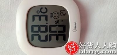 interlace,1# - 多利科dretecO-230电子精准温湿度计,家用室内高精度温度表婴儿房温度计