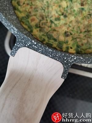 interlace,1# - 卡罗特EJ8124麦饭石平底锅不粘锅,家用煎锅煎饼锅牛排煎锅锅电磁炉燃气灶