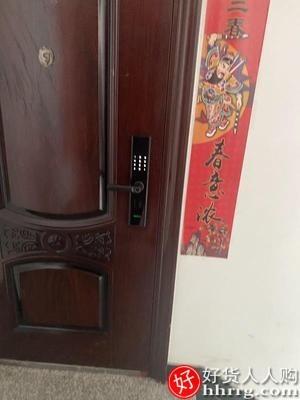 interlace,1# - 固勒指纹锁家用防盗门锁密码锁,磁卡远程监控摄像头智能锁电子锁