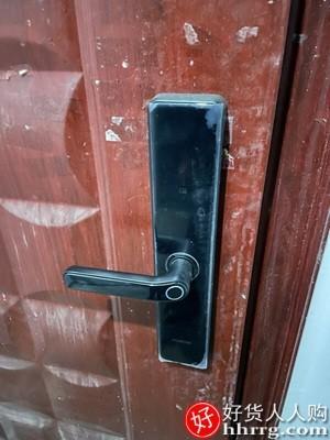interlace,1# - 希箭指纹锁密码锁,家用防盗门智能锁门锁电子猫眼门锁