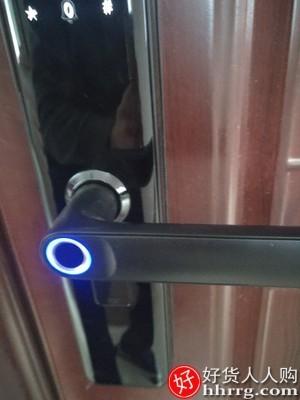 interlace,1# - 武匠指纹锁家用防盗门密码锁,智能门锁电子锁民宿通用大门锁