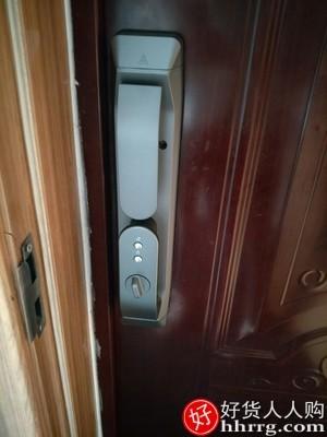 interlace,1# - 德施曼指纹锁Q5M智能锁密码锁,全自动家用防盗门锁