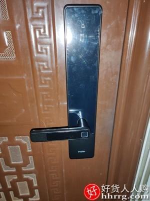 interlace,1# - 海尔E20指纹锁,家用防盗门智能门锁电子密码锁