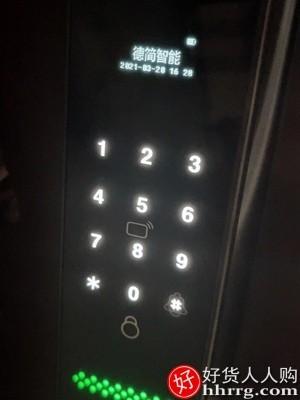 interlace,1# - 德简S700指纹锁,家用防盗门智能锁带监控摄像头密码锁