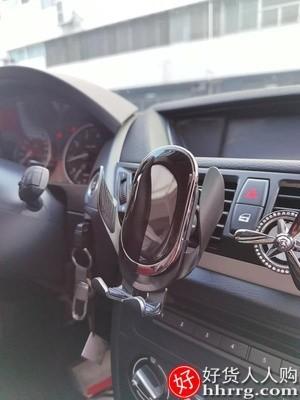 interlace,1# - 金镯车载无线充电器,车内导航全自动感应苹果华为快充