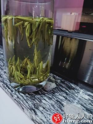interlace,1# - 祁野2021新茶雀舌绿茶,明前特级茶叶竹叶嫩芽浓香毛尖春茶散装250g