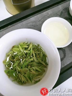 interlace,1# - 杭州正宗龙井茶,2021新茶特级明前绿茶散装茶叶125g*2