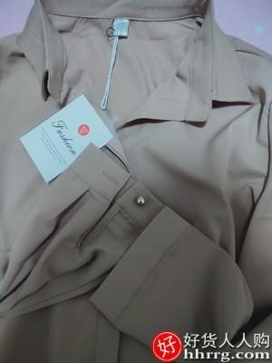 interlace,1# - 惜闻女士职业白色衬衫,高级感雪纺长袖衬衣女