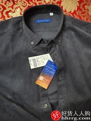 interlace,1# - 男士灯芯绒衬衫,修身复古长袖衬衣港风日系条绒衬衫