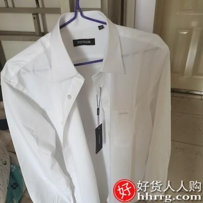 interlace,1# - 雅戈尔男士长袖衬衫,商务正装休闲百搭职业工装免烫衬衫