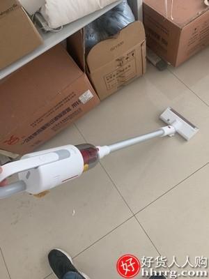 interlace,1# - 德尔玛VC20无线吸尘器,家用小型手持大吸力静音强力吸小米粒吸尘机