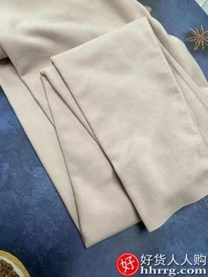 interlace,1# - 猫人德绒无痕男女保暖内衣,男士秋衣秋裤套装女加绒保暖衣棉毛衫
