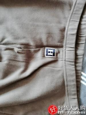 interlace,1# - 红豆抗菌精梳纯棉内衣秋衣秋裤,男士全棉毛衫冬薄款保暖套装