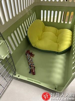 interlace,1# - 爱丽思宠物航空箱托运箱,猫狗车载便携手提笼子外出狗狗用品