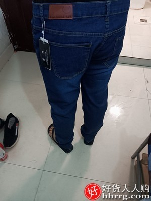 interlace,1# - 夏季薄款男士牛仔裤,黑色修身小脚休闲长裤子