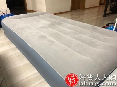 interlace,1# - INTEX充气床垫家用双人气垫床,单人便携折叠自动充气床垫