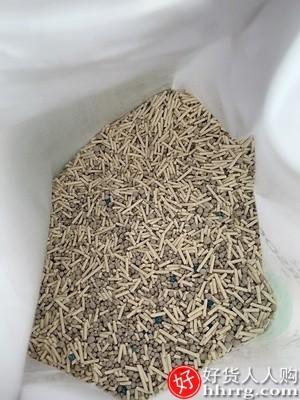 interlace,1# - 洁客猫砂豆腐膨润土,混合型原味除臭无尘2.8kg公斤懒人猫砂