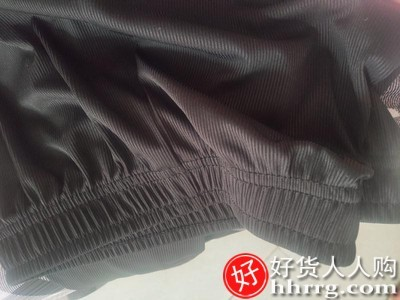 interlace,1# - 南极人新款冰丝阔腿裤女,高腰垂感黑色宽松薄款拖地休闲直筒裤