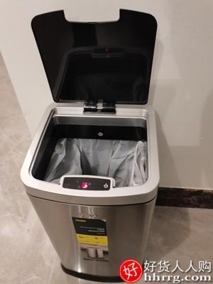 interlace,1# - CCKO感应垃圾桶,家用带盖厕所卫生间智能不锈钢大容量垃圾桶