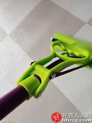 interlace,1# - 妙洁家用免手洗海绵拖把,海绵头卫生间懒人胶棉吸水拖布
