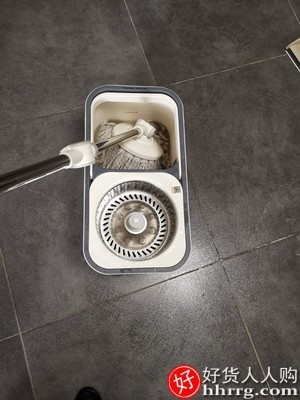 interlace,1# - 大卫拖把桶旋转拖把,通用一拖免手洗家用懒人拖净拖布桶拓扑墩布
