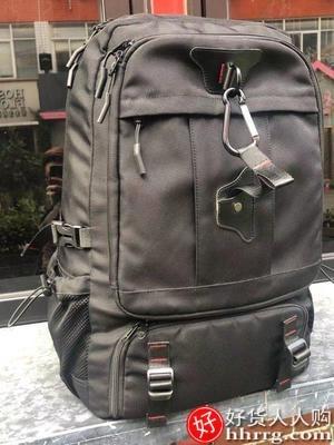 interlace,1# - 智纳户外登山旅行包男,休闲超大容量旅游双肩书包出差背包