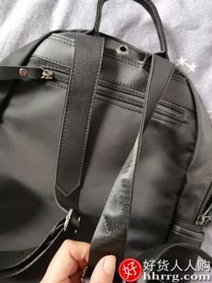 interlace,1# - 曼柔双肩包背包女,韩版牛津布帆布时尚百搭女士旅行小包