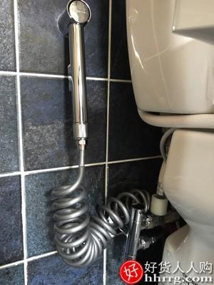 interlace,1# - 潜水艇卫生间马桶喷枪伴侣水龙头,高压冲洗器喷头妇洗厕所增压神器
