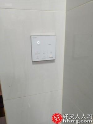 interlace,1# - 美的浴霸灯集成吊顶灯暖风机,卫生间五合一排气扇照明一体浴室取暖