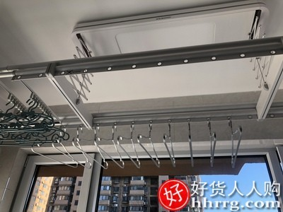 interlace,1# - 邦先生电动晾衣架,家用遥控室内智能全自动升降小阳台凉晒衣杆机