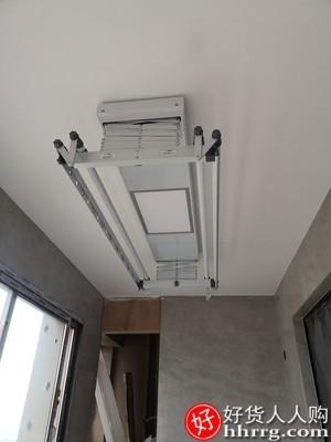 interlace,1# - 松下家用智能升降电动晾衣架,遥控自动烘干晾衣双杆伸缩晒衣架