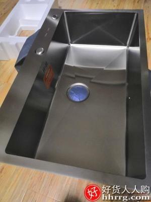 interlace,1# - 卡贝家用手工水槽,304不锈钢加厚洗碗槽厨房水池菜盆洗菜盆单槽