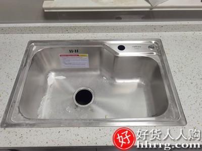 interlace,1# - 华帝水槽单槽厨房304不锈钢洗菜盆,台下盆加大号仿手工洗碗盆水槽