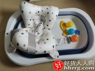 interlace,1# - 劳可里尼婴儿洗澡盆浴盆,宝宝可折叠幼儿坐躺大号浴桶