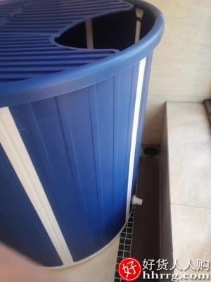 interlace,1# - 水天一方免安装折叠泡澡桶,大人沐浴洗澡桶家用坐浴盆全身浴桶浴缸