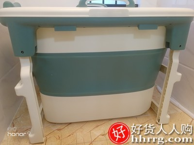 interlace,1# - 简曼可折叠浴桶泡澡桶,大人家用全身加厚成人浴缸沐浴桶浴盆
