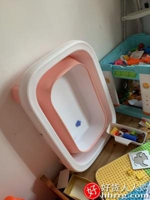 interlace,1# - 劳可里尼儿童泡澡桶,宝宝婴儿游泳桶洗澡浴桶家用小孩洗澡盆大号可坐躺折叠