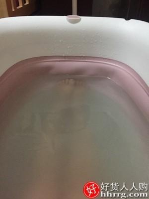 interlace,1# - 享趣大人折叠浴缸家用泡澡桶,全身加热汗蒸两用沐浴桶大号洗澡浴盆