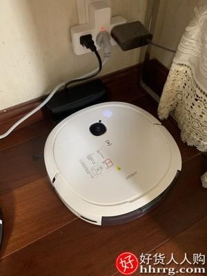 interlace,1# - 科沃斯地宝DK45智能扫地机器人,家用拖地吸尘三合一超薄扫拖一体U3