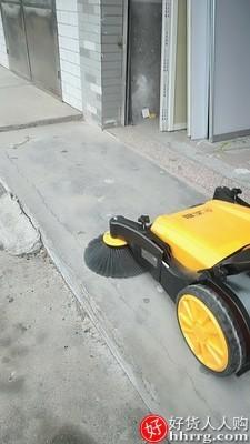 interlace,1# - 志高工业手推式扫地机,工厂车间养殖场道路仓库粉尘无动力清扫车