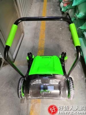 interlace,1# - 杰诺工业扫地机手推式拖地机,工厂车间用无动力道路粉尘物业扫地车