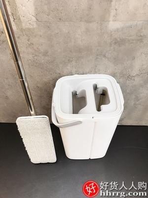 interlace,1# - 博生懒人平板拖把,家用拖布免手洗地拖一拖墩布净地板拖地