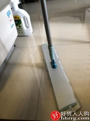 interlace,1# - 宝家洁平板拖把,家用一拖懒人拖布大号免手洗木地板尘推拖地