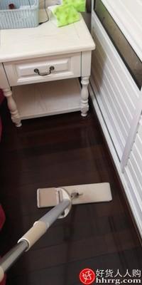 interlace,1# - 爱格懒人免手洗平板拖把,新款家用拖地一拖拖布木地板吸水