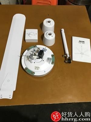 interlace,1# - 奥克斯吊扇三叶大风力铁叶56寸,家用客厅工业吊式电风扇