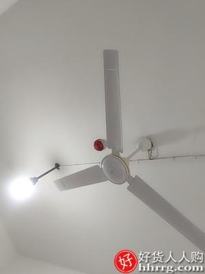 interlace,1# - 美的吊扇56寸,家用静音铁叶大风力吊式电风扇