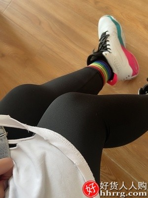 interlace,1# - 鲨鱼皮打底裤女,外穿紧身收腹提臀瘦腿芭比弹力瑜伽薄款裤子