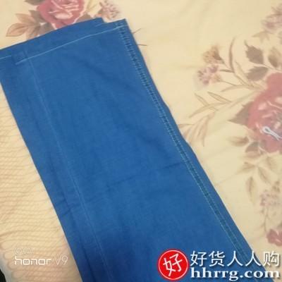 interlace,1# - 夏季弹力宽松薄款牛仔裤男,冰丝修身直筒超薄休闲长裤子