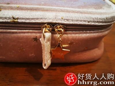interlace,1# - eachy化妆包女,便携旅行大容量手提收纳袋